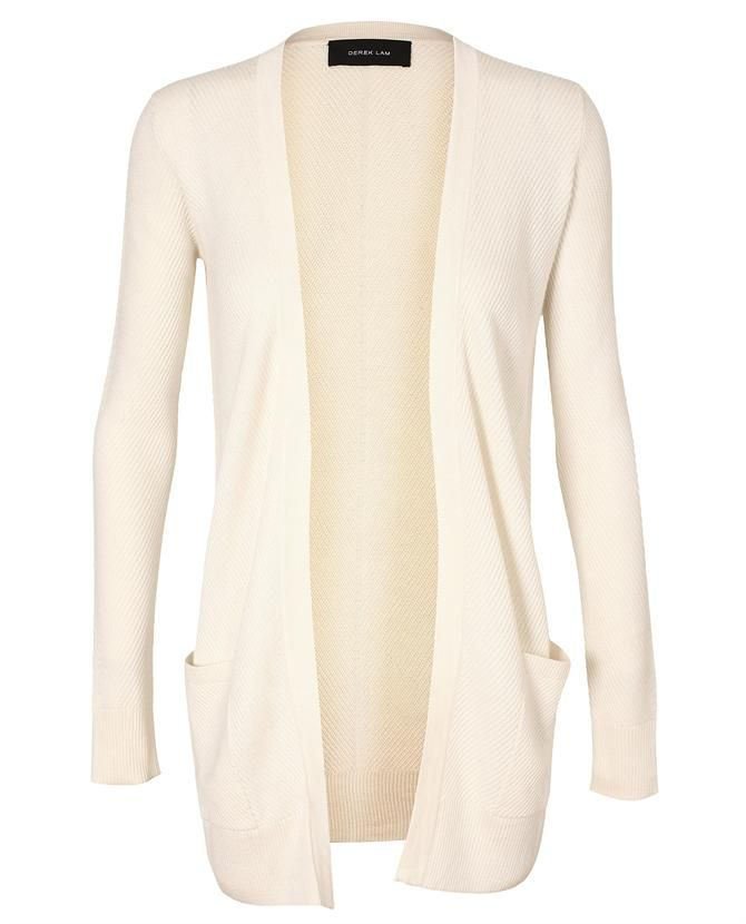 Browns fashion & designer clothes & clothing | DEREK LAM | Cashmere-silk Ribbed Cardigan