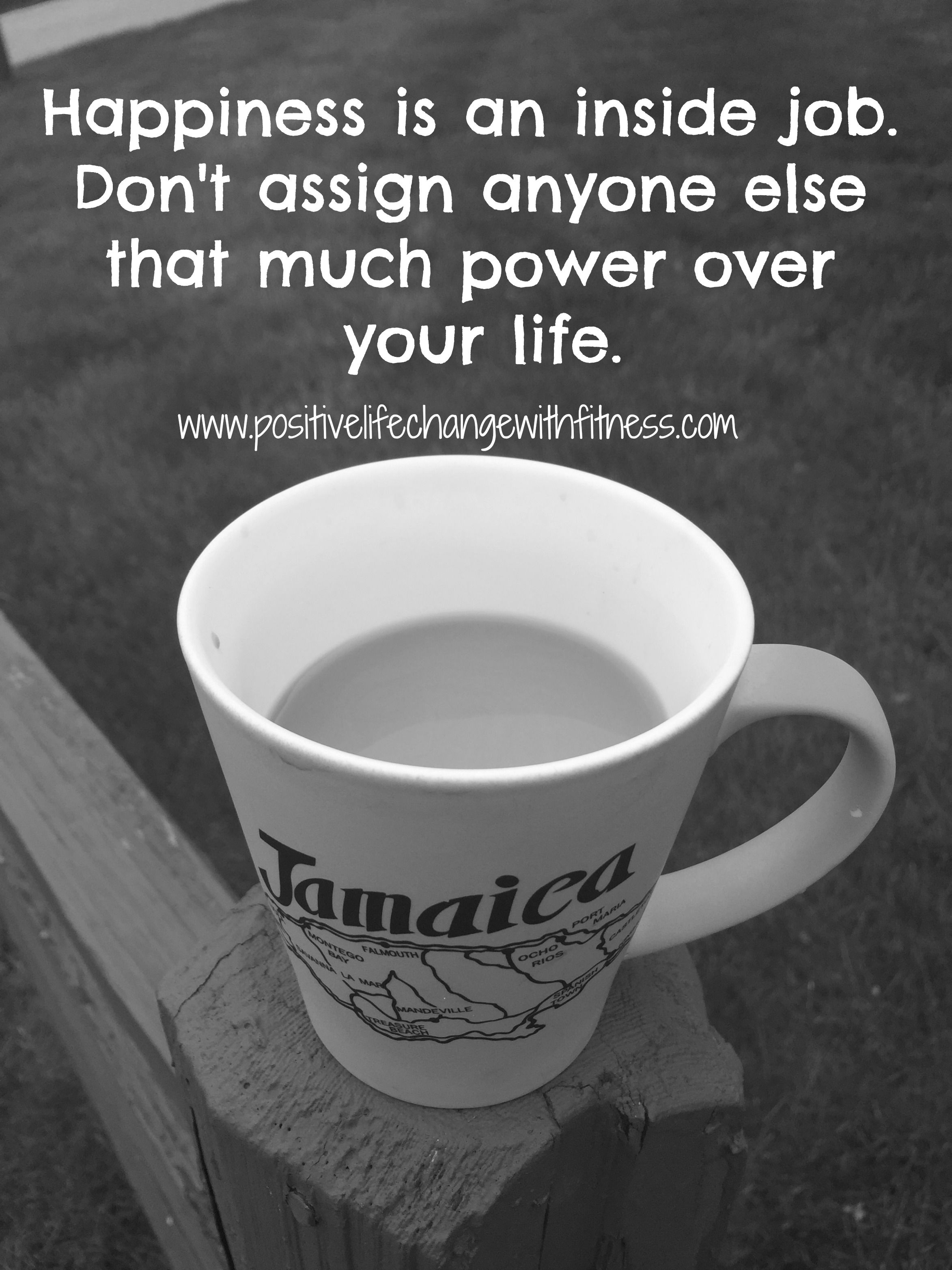 DON'T LET ANYONE ELSE TAKE YOUR HAPPINESS! coffeetalk