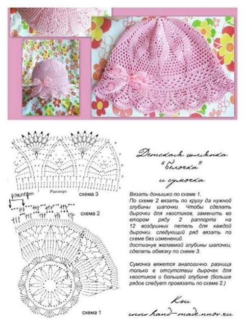 Gorro a ganchillo con diagrama | Patrones (gráficos) a crochet ...