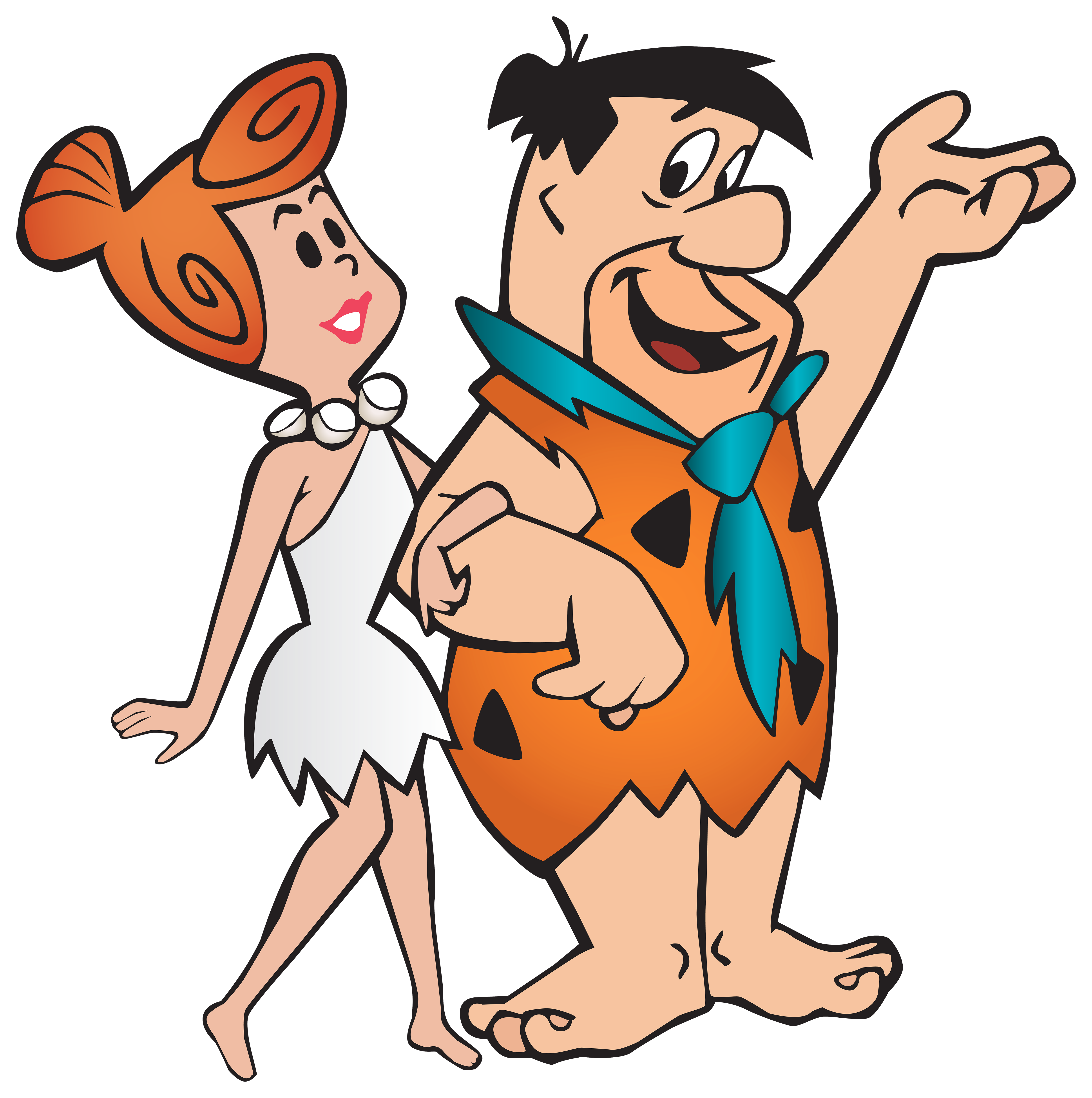 Fred And Wilma Flintstone Transparent Png Clip Art Image Gallery Yopriceville High Qua Classic Cartoon Characters Animated Cartoons 90s Cartoon Characters