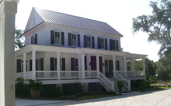 Home Plan Details : Plantation Style With A View