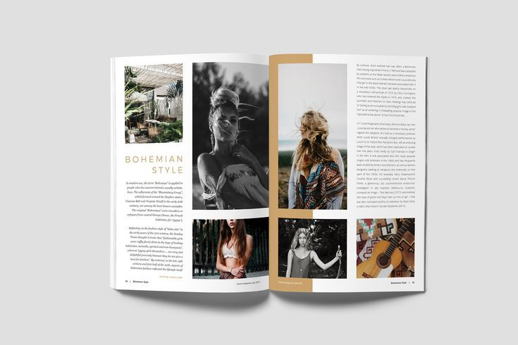 Fashion Magazine Magazines, Flyer template and Creative design - fashion design brochure template