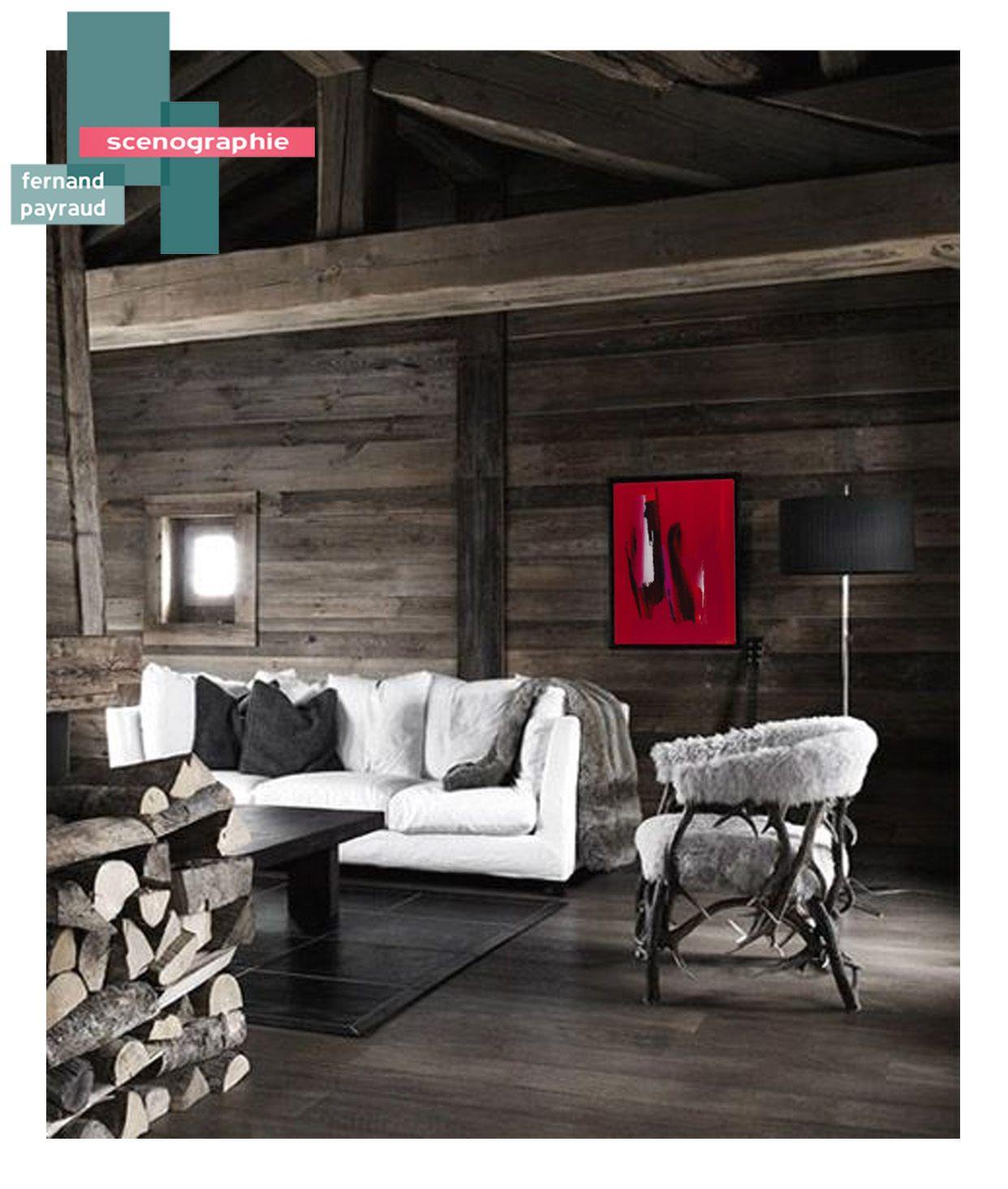 scénographie oeuvre d'art | B_indoor | www.b-indoor.com/ #decoration #design #agencement #contemporain #art #mobilierdesign #amenagement #plans #scénographies #chalet #lounge