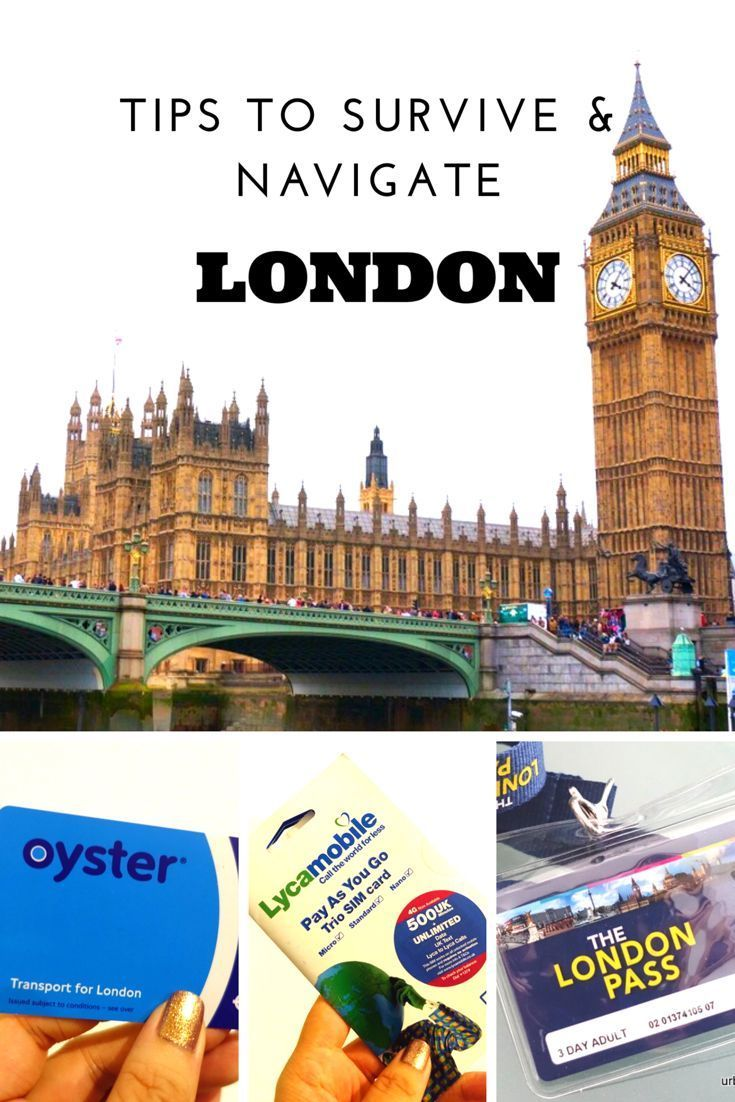travel tips to survive navigate london sim card oyster card london pass - Europe Travel Sim Card