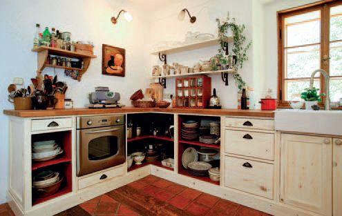 Kuchyně V Retro Stylu Chatař Chalupář Rustikální