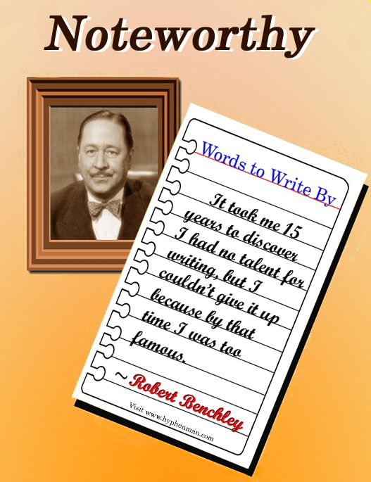 Robert Benchley (1889-1945) was a founding member of the famed ...