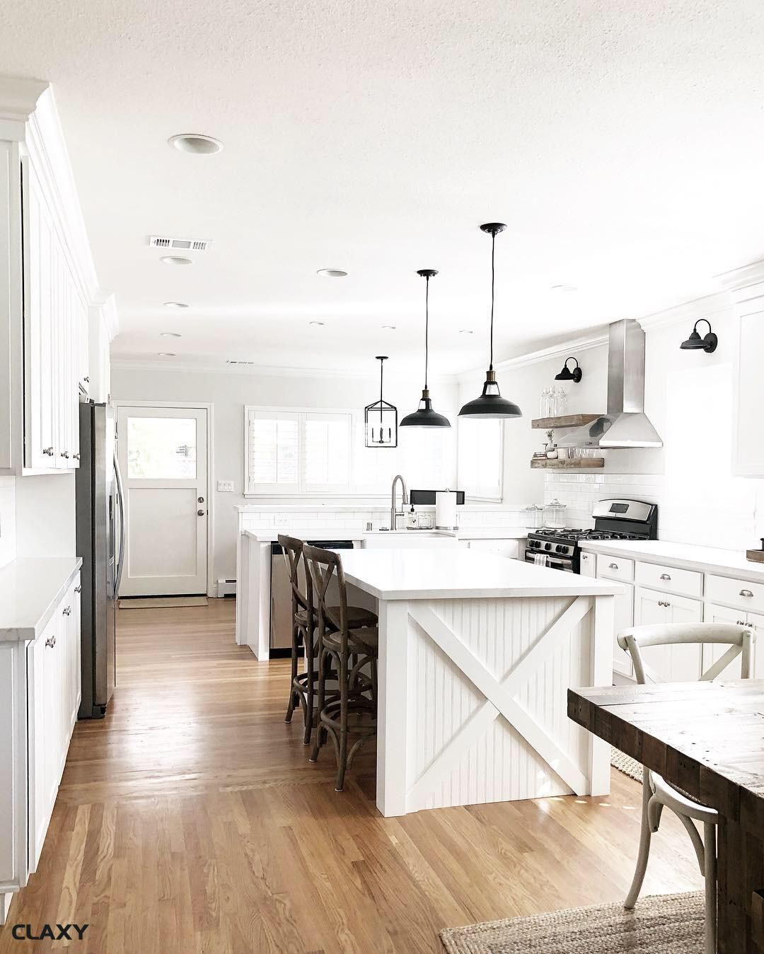 10 designs perfect for your small kitchen modern farmhouse kitchens farmhouse style kitchen on kitchen island ideas modern farmhouse id=29146