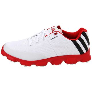 adidas golf shoes red and white