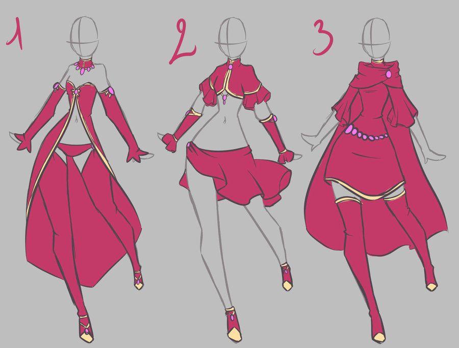 fairy clothes design by rika-dono on deviantART