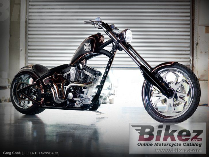 west coast choppers el diablo swingarm custom. Black Bedroom Furniture Sets. Home Design Ideas