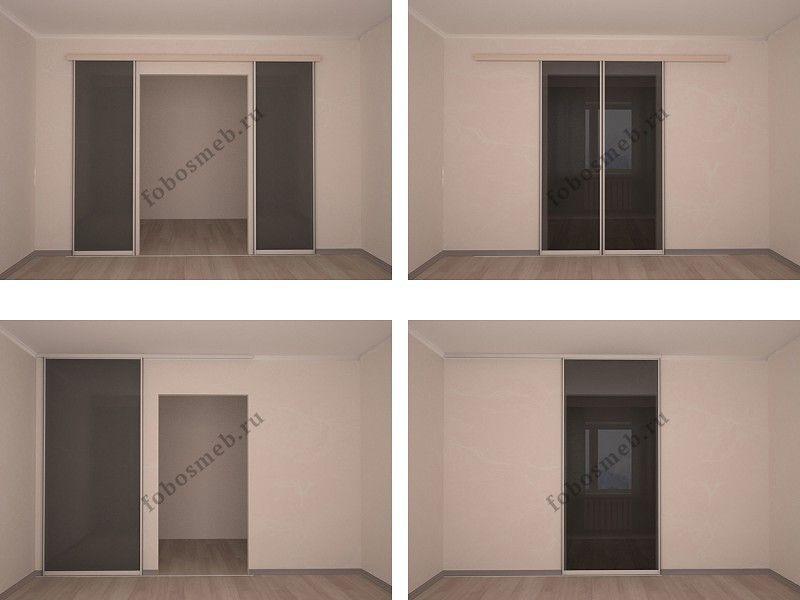Варианты раздвижных систем Идеи для гардеробных комнат Pinterest - schlafzimmer mit eckschrank