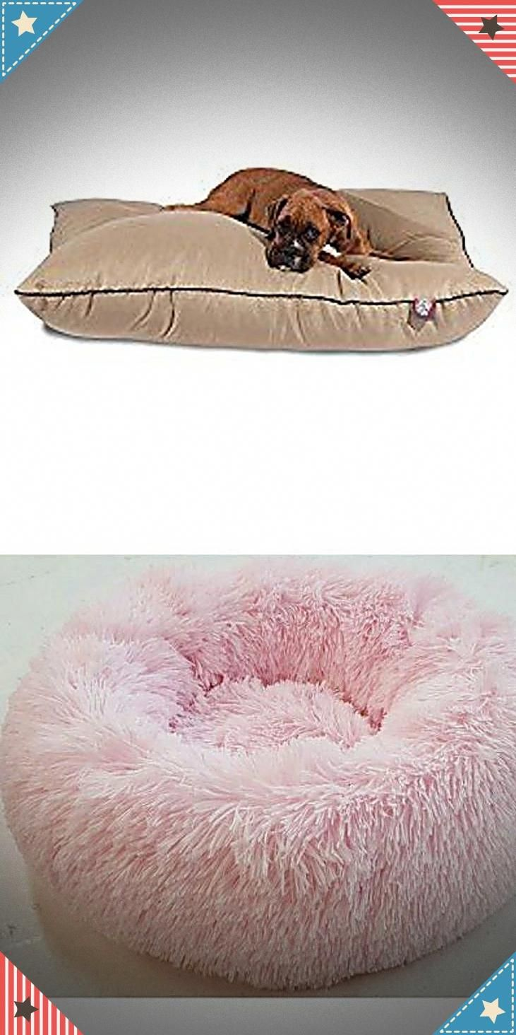 Latest doggie beds for small & large dogs. Best large dog