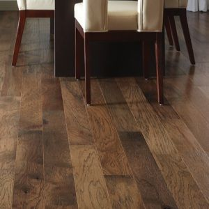 These Hardwood Floors Have A Distressed Reclaimed Look