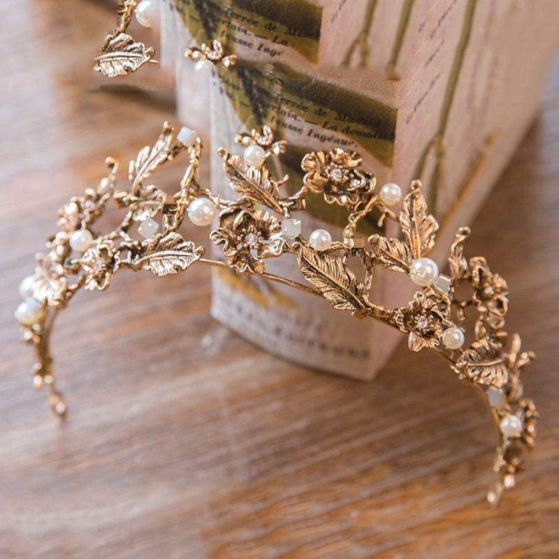 Vintage Style Vine Tiara Headband #crowntiara