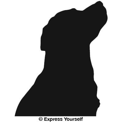 Pin By Rucha Powers On Pets Labrador Silhouette Dog Silhouette Silhouette