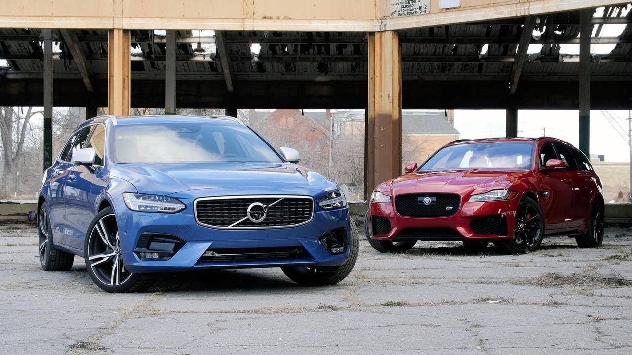 Jaguar XF Sportke Vs. Volvo V90: No You Dont Need An SUV   Car ...