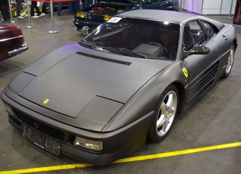 Sweet black 348 ferrari black pinterest ferrari cars and dream garage