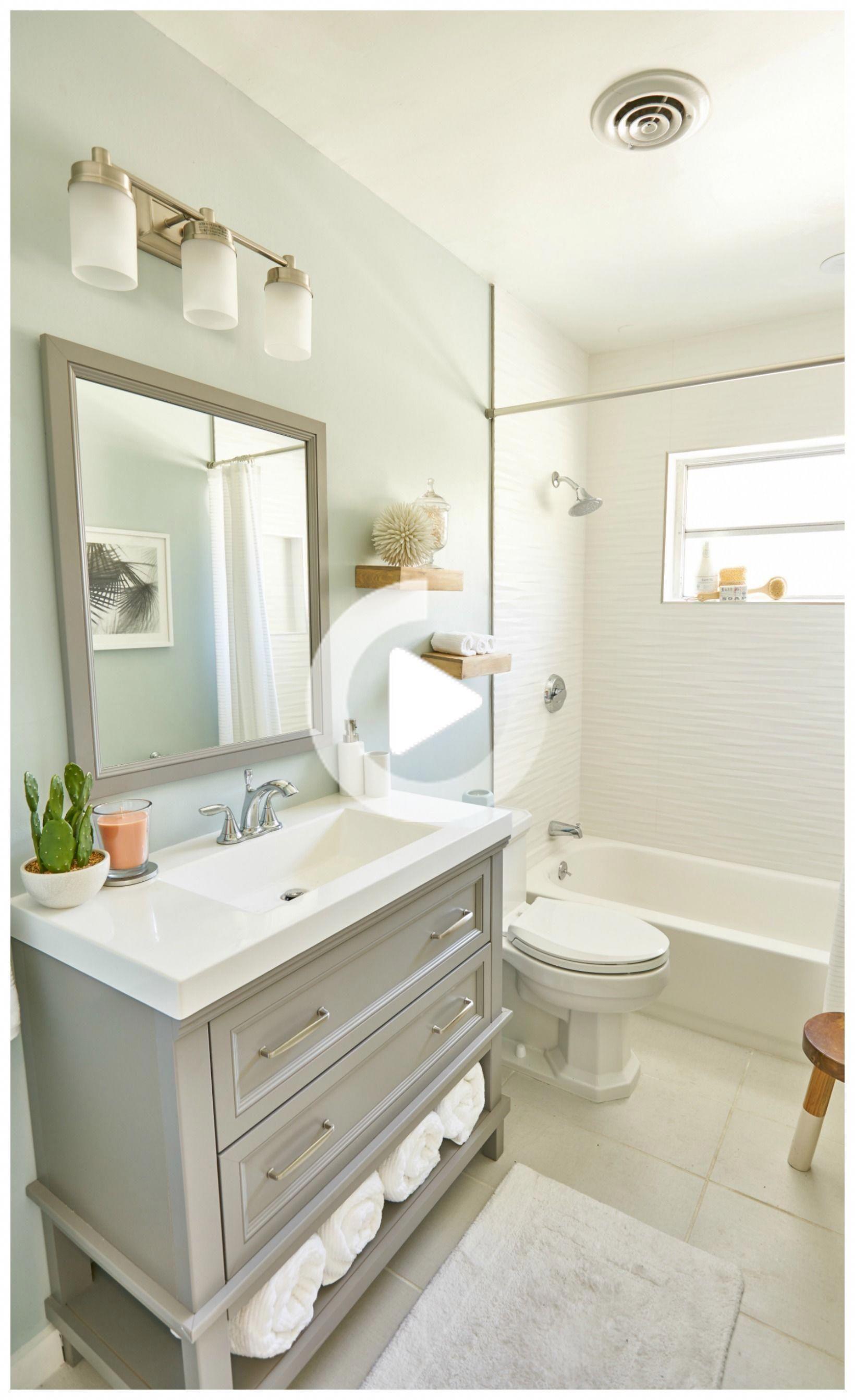 8 Ways To Make A Small Bathroom Look Bigger Small Bathroom Bathrooms Remodel Small Bathroom Remodel