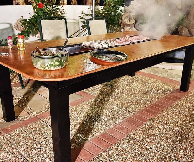 Diy Barbecue Table Diy Barbecue Bbq Table Grill Table