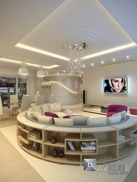 Awesome Living Rooms  Dream Home  Pinterest  Living Rooms Room Brilliant Circular Living Room Design Design Decoration