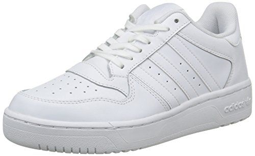 wholesale dealer f8e99 58724 adidas M Attitude Revive Lo, Damen Sneakers, Weiß (Ftwr WhiteFtwr White