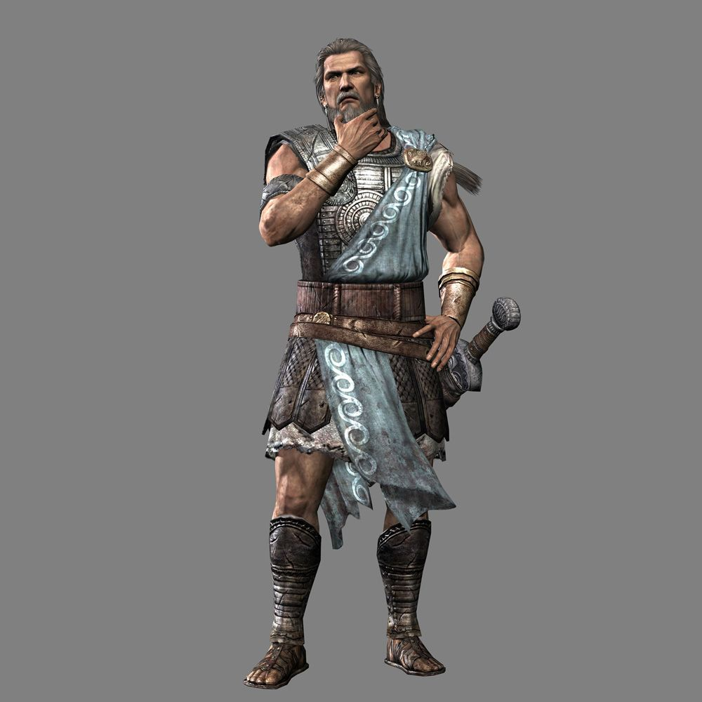 Odysseus in Warrior Legends of Troy