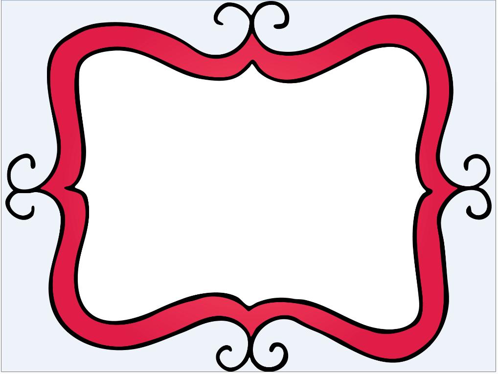 red frame printables pinterest clip art rh pinterest com