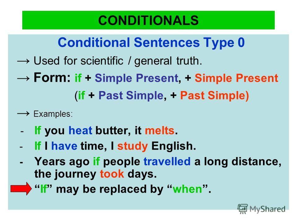 Pin by Rabab Raza on english English study, Conditional