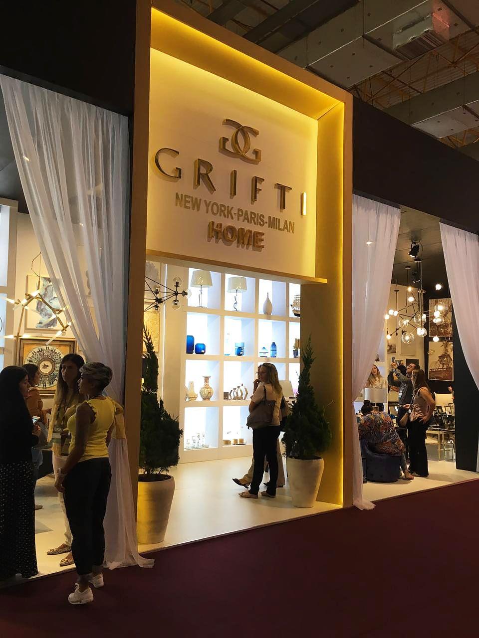 Grifti exhibition design on behance exhibition design