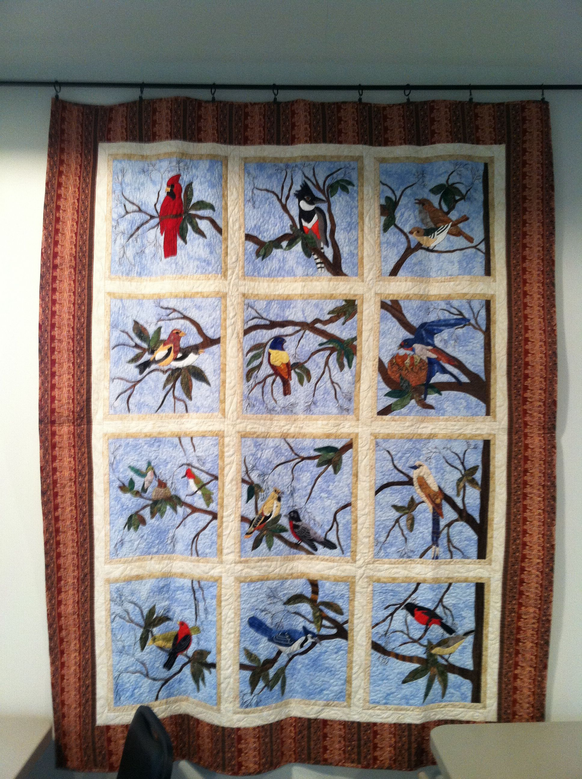 Applique Bird Quilt Quilts Bird Quilt Blocks Bird