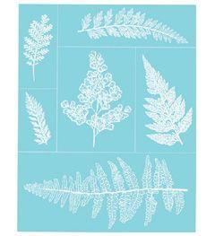 Martha Stewart Crafts™ Glass Silkscreen - Ferns