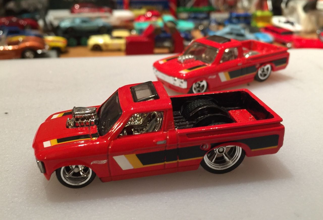 Customs By Fozzy Custom Chevy Luv Hot Wheels Toys Custom Hot
