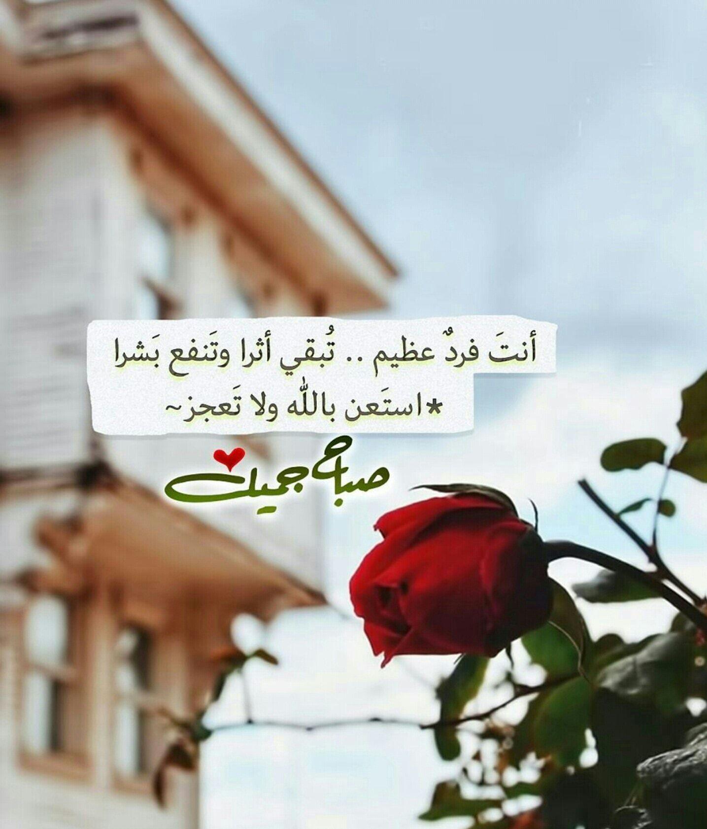 صباح الخير Good Morning Romantic Love Quotes Evening Pictures Morning Wish