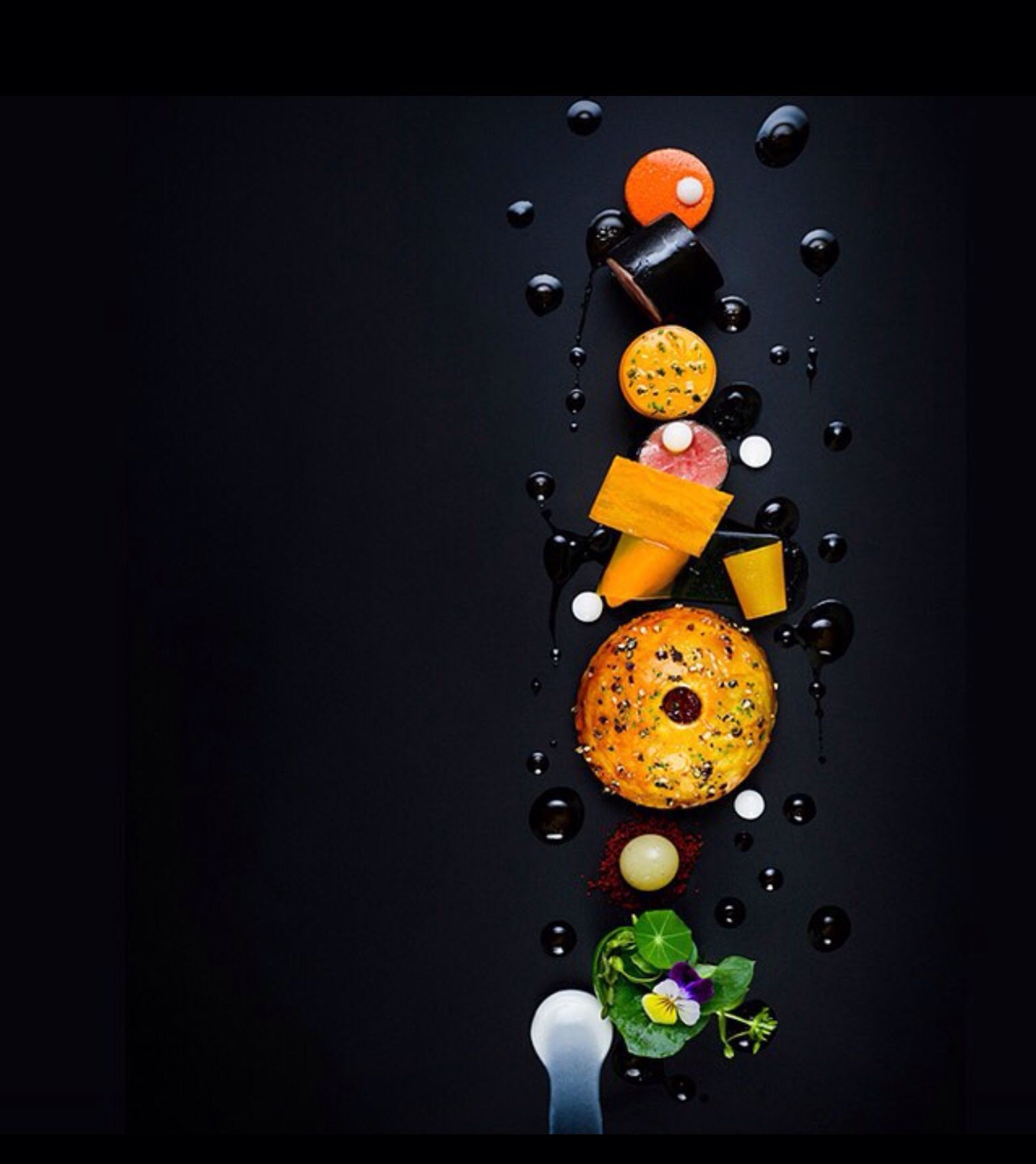 Chef Paul Liebrandt. The Art of Plating