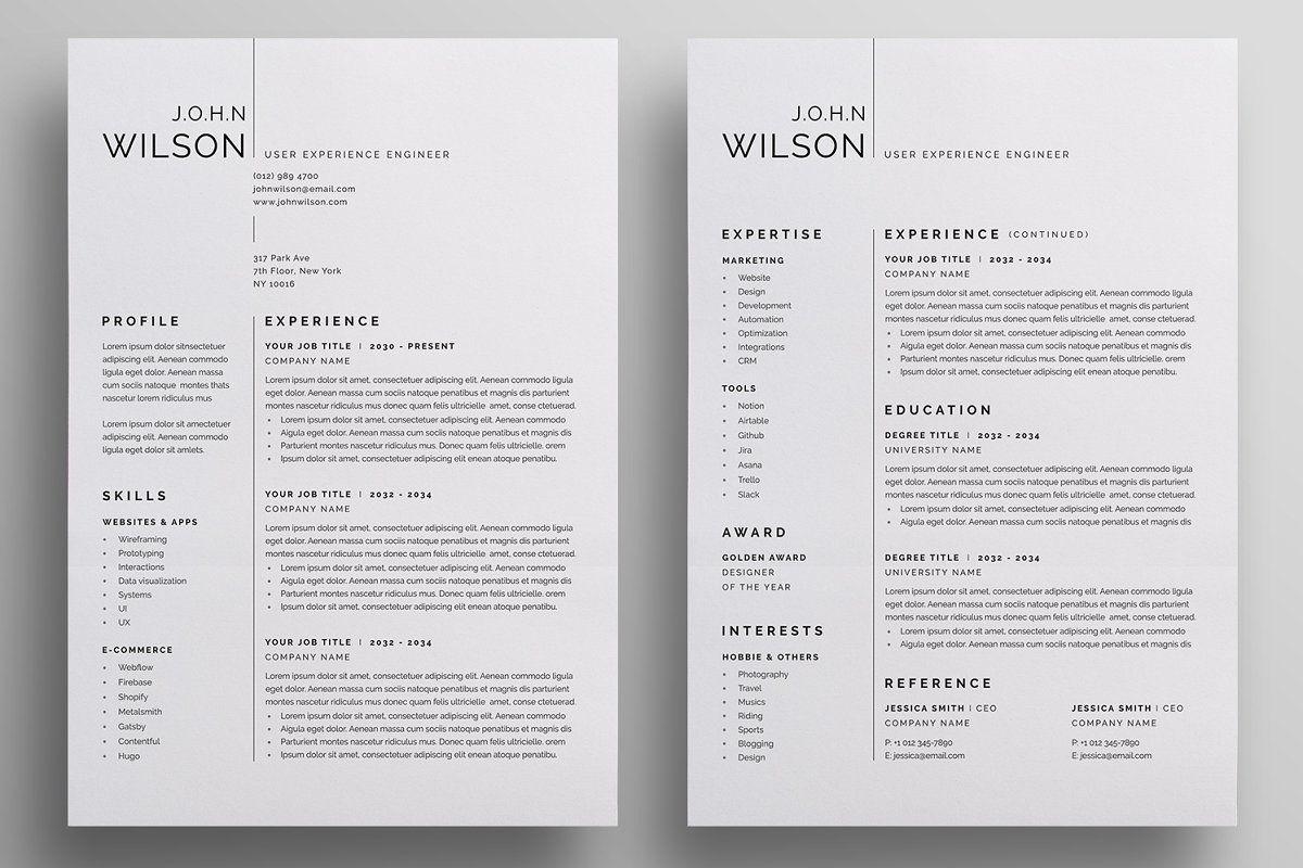 Resume/CV в 2020 г (с изображениями)