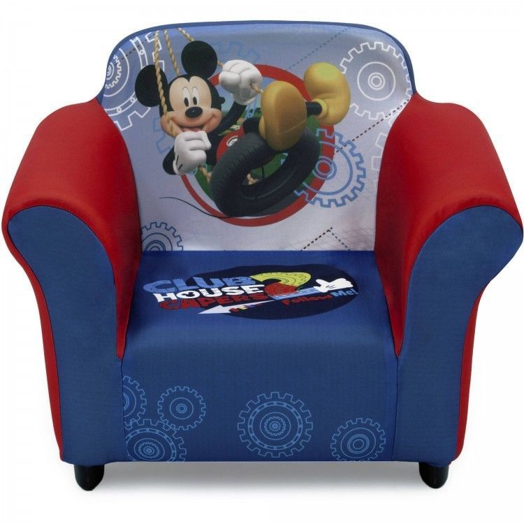 Attirant Mickey Mouse Clubhouse Toddler Chair Upholstered Armchair Playroom  Furniture New