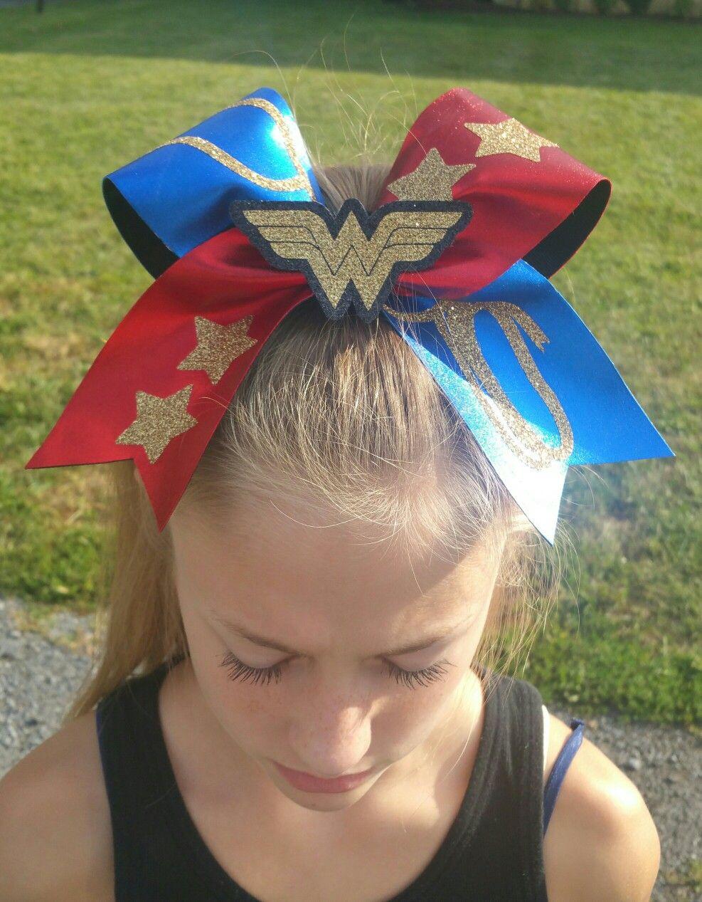 3d woman cheer bow #winderwoman