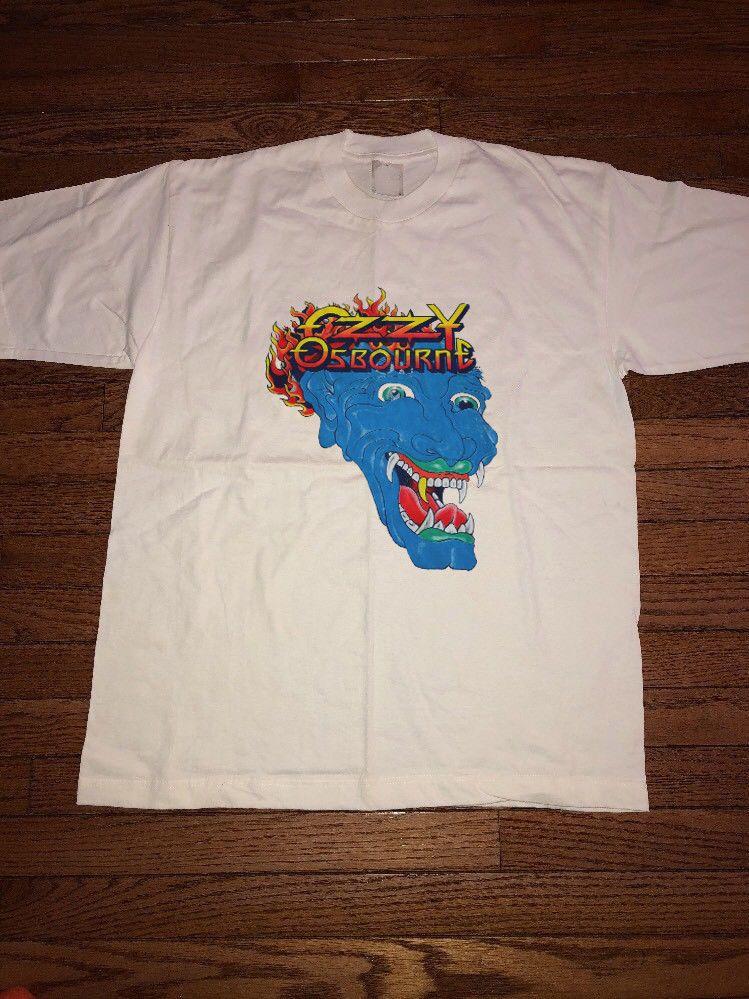 e25b1706 Vtg 90s Ozzy Osbourne Tattoo Concert Tour Shirt rprint GILDAN theatre of  madness #fashion #clothing #shoes #accessories #mensclothing #shirts (ebay  link)