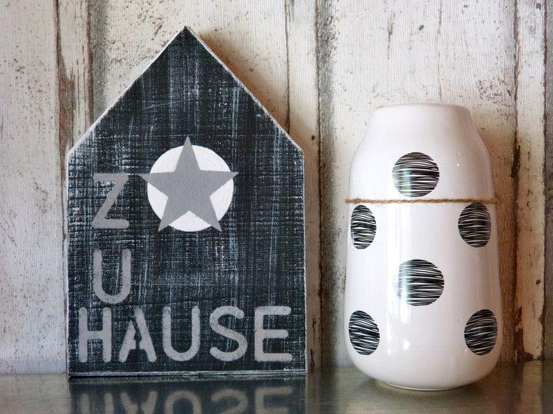 deko objekte xl holzhaus ein designerst ck von pabst96 bei dawanda holzh user. Black Bedroom Furniture Sets. Home Design Ideas