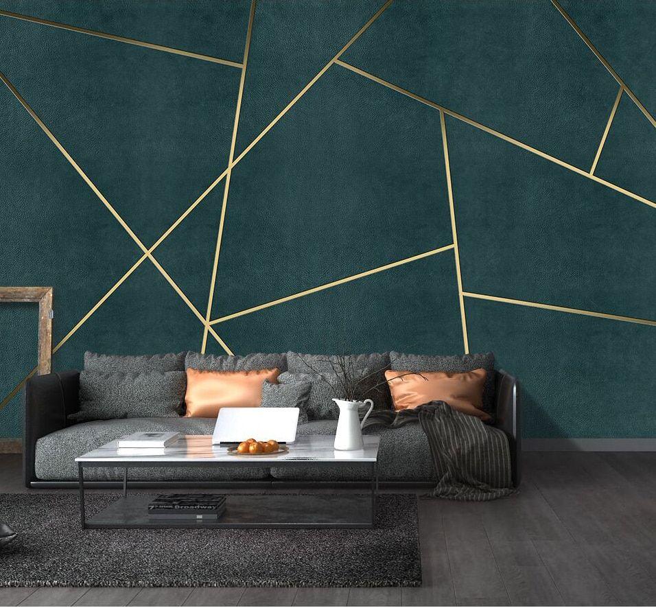 US $11.0 45% OFF|Bacaz Large 3D Geometric Wallpaper Murals 3d Wall Sticker for Living Room Background 3d Geometric Wall Decor Print 3d Wall Mural|Wallpapers|   - AliExpress