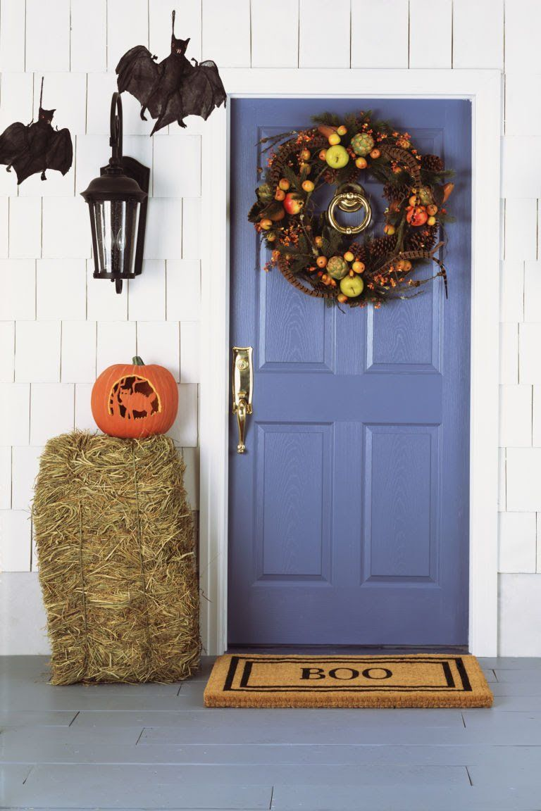 Your curb appeal is about to be so good it\u0027s scary Crafty - Scary Door Decorations For Halloween