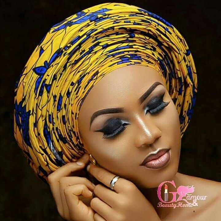 Beautiful Gele and Head Wrap for Weddings #africandressstyles