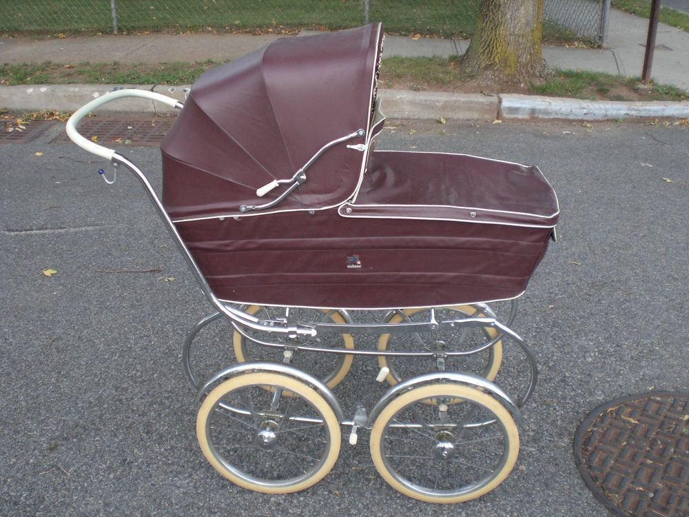 Vintage Antique Baby Carriage Pram Baby Buggy 1960 S