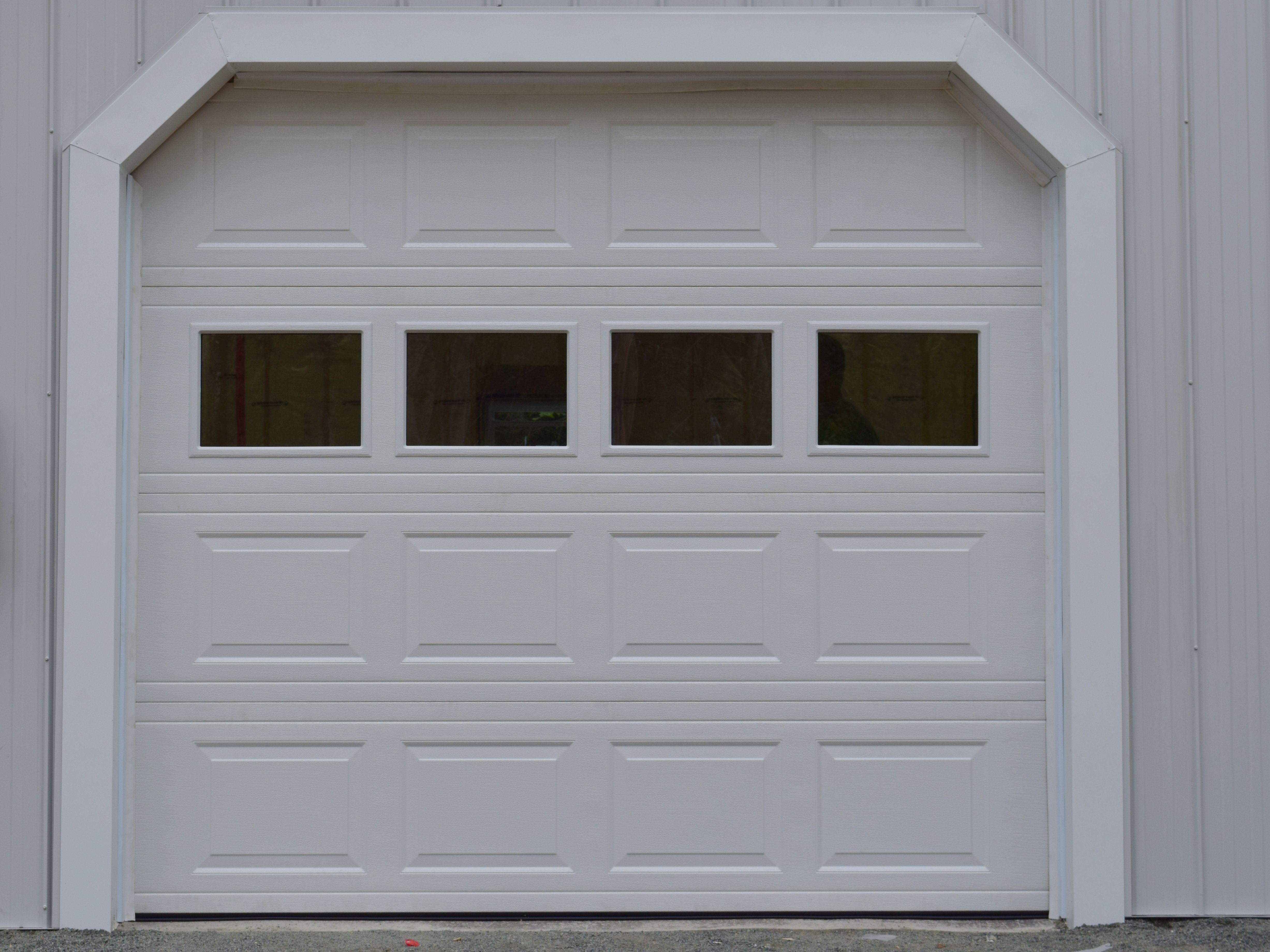 Wayne Dalton Garage Door with Windows available at HubCraft Timber