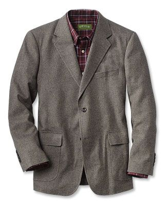 Newcastle Wool/Cotton Sport Coat This wool sports jacket is built ...