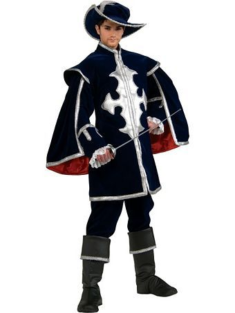 Rubies Mens Musketeer Grand Heritage Costume