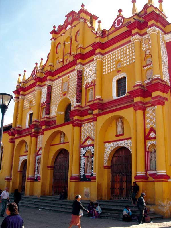 Chiapas, San Cristobal de las Casas, Cathedral Mexico