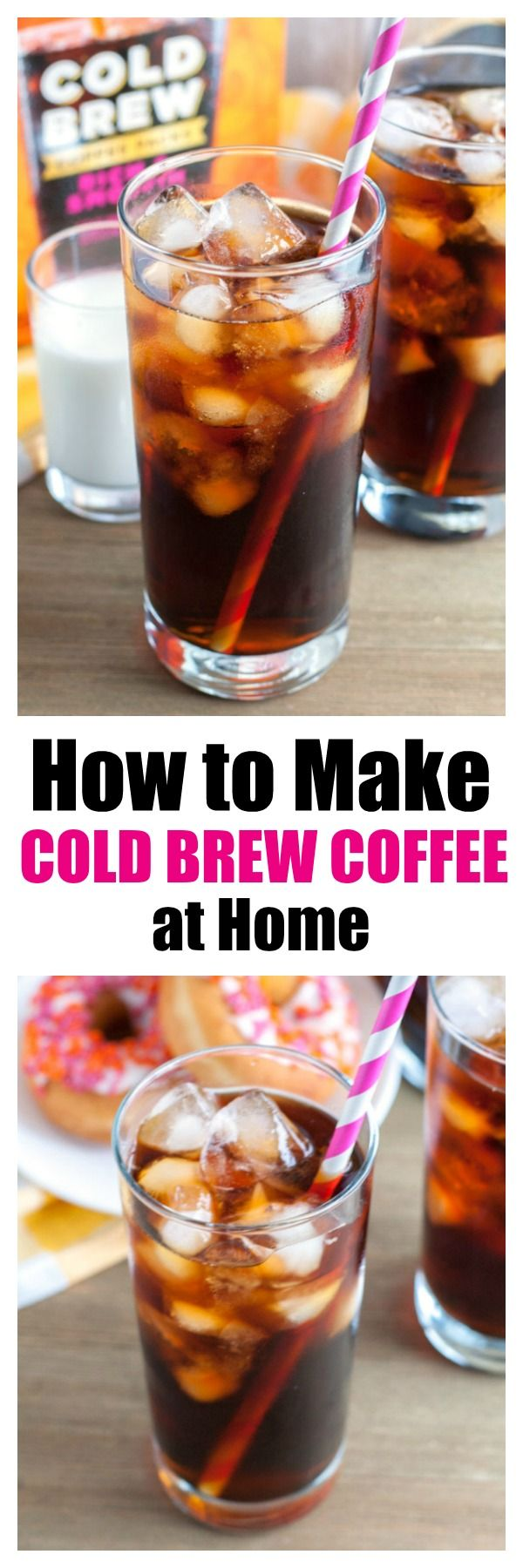 Making cold brew coffee at home is as easy as 123 with