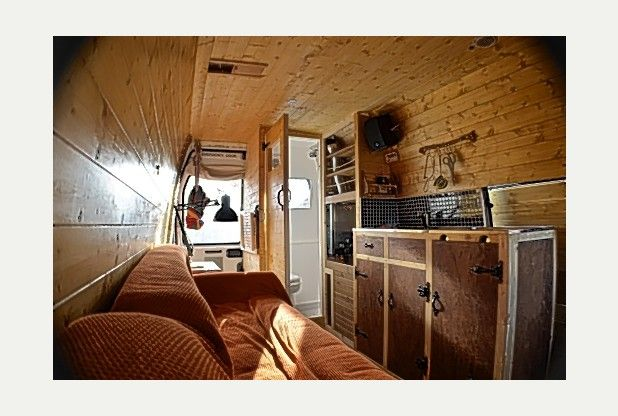 Quit Job Build Campervan Travel The World Hull Man Mike Hudson Living Dream As Van Dog Traveller