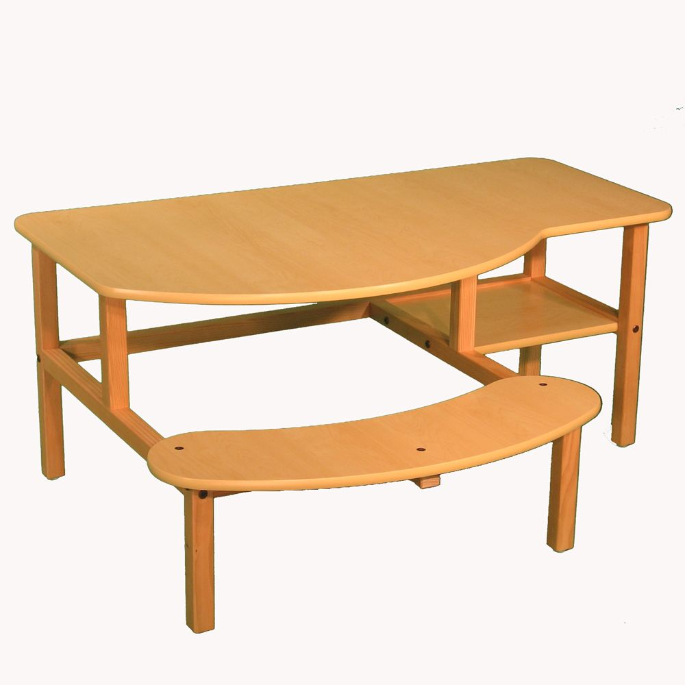 """Pre-School Buddy Manufactured Wood 19"""" Student Computer"""